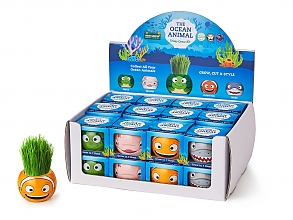 Grass Hair Kit - OCEAN ANIMAL ANIMALS SET OF 4